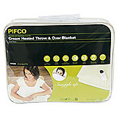 Pifco Cream Heated Throw