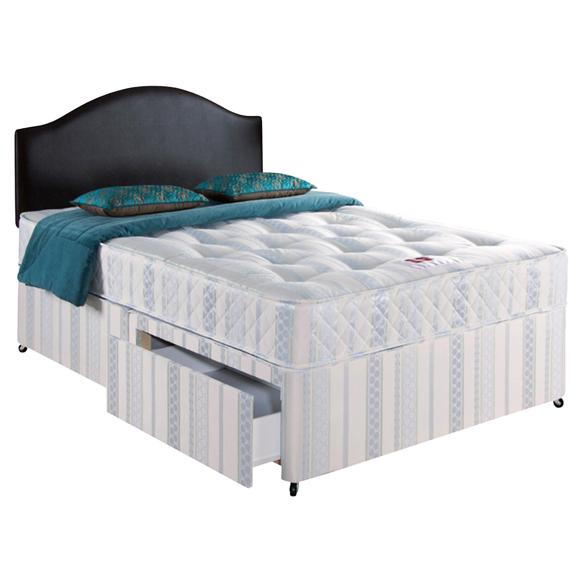 Home and garden furniture airsprung danbury luxury king for Divan bed offers