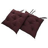 Tesco Chocolate Seat Pads, 2 Pack