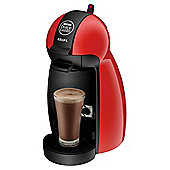 Nescafe  0.6 Krups Dolce Gusto Piccolo Coffee Machine - Red
