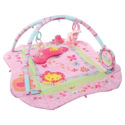 Bright Starts Pretty In Pink Baby's Play Place Deluxe Edition