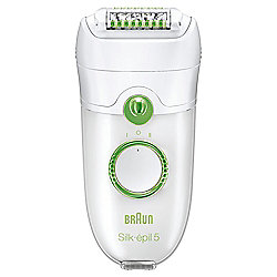 Braun Silk-epil 5 5780 Epilator with 5 attachments and cooling glove