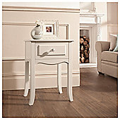 Lille Bedside Table, Ivory