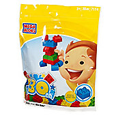 Mega Bloks Value Bag - 30 Piece Mini Bloks Set