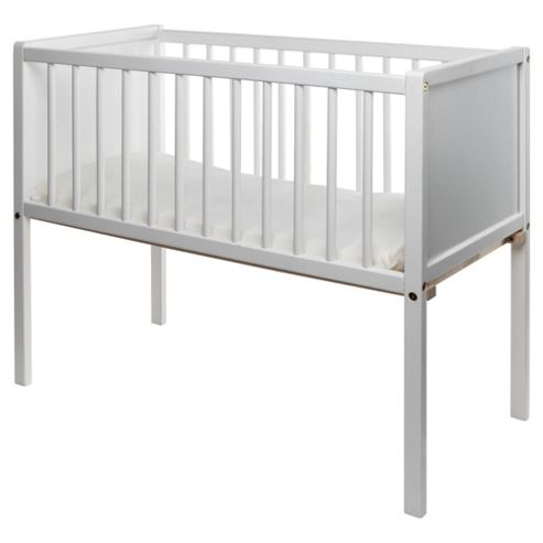 Saplings Ellie Crib, White
