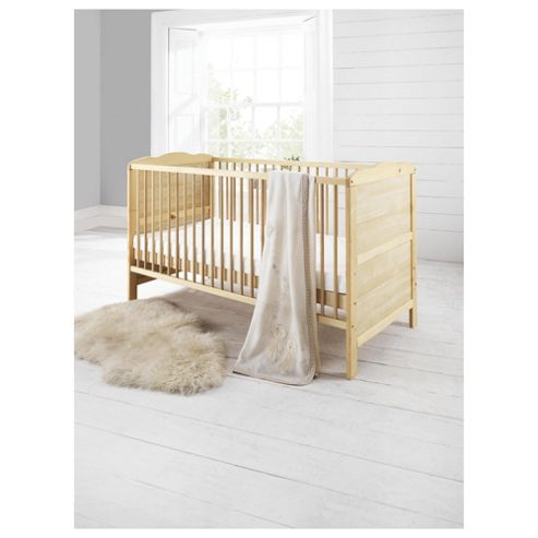 Saplings Kirsty Cot Bed, Natural