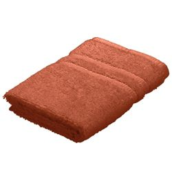 Tesco Face Cloth Towel Burnt Orange