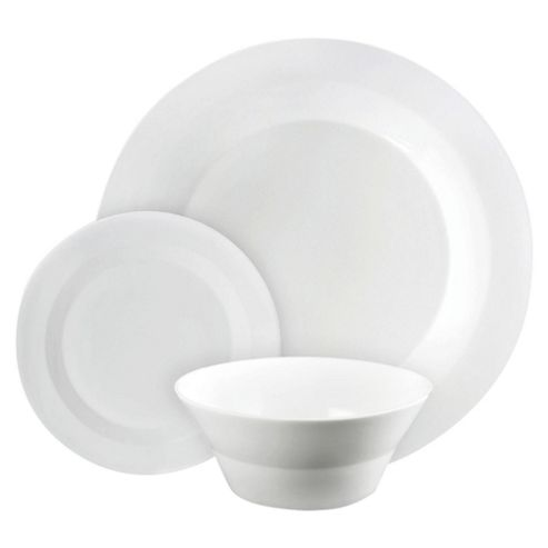 James Martin by Denby 12 Piece, 4 Person Dinner Set - White