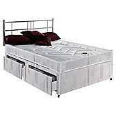 Airsprung Frome King Size Divan Bed Set, Non-Storage