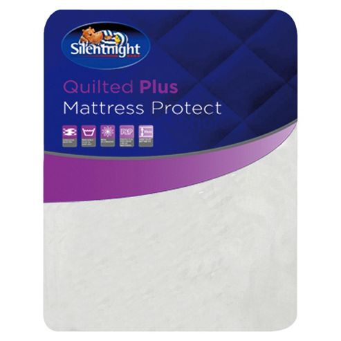 Silentnight Tesco Exclusive Quilted Plus King Size Mattress Protector