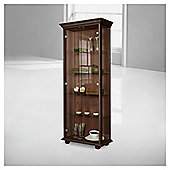 Henley 2 Door Display Cabinet, Wenge-effect