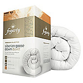 Fogarty Siberian Down Duvet, Super King, 10.5 Tog