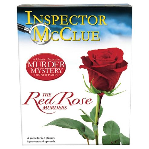 Murder Mystery Dinner Party game - Red Rose