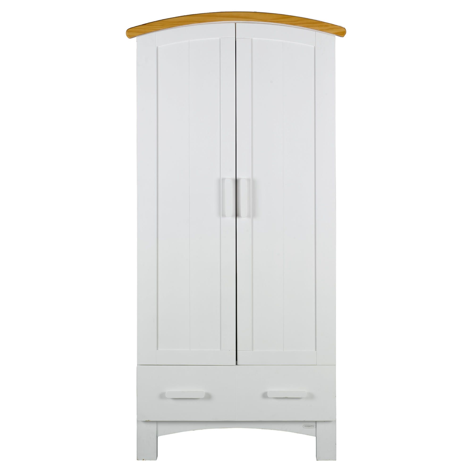 Cosatto Hogarth Wardrobe, White & Oak at Tescos Direct