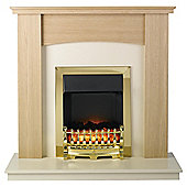 Katell Derbyshire Electric Fire Suite