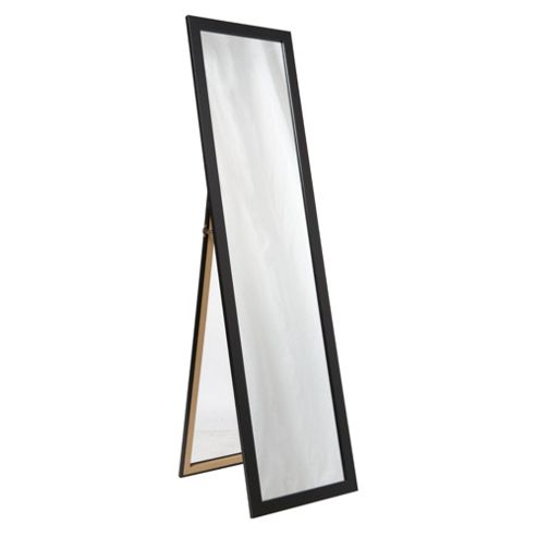 Basic Cheval Mirror - Black