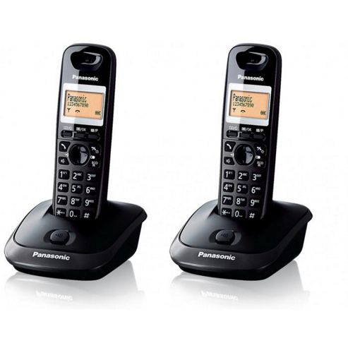 Panasonic KX-TG2512ET cordless Telephone - Set of 2