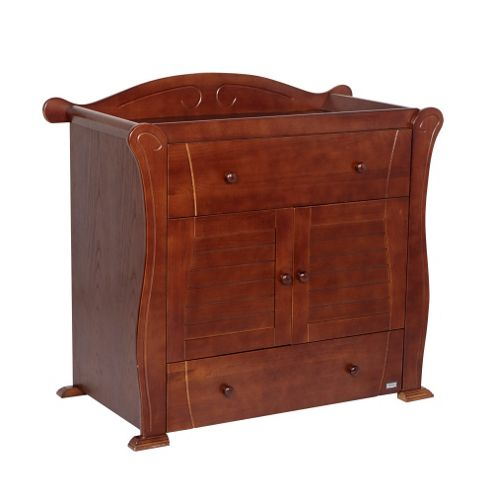 Tutti Bambini Marie Nursery Chest Changer, Walnut