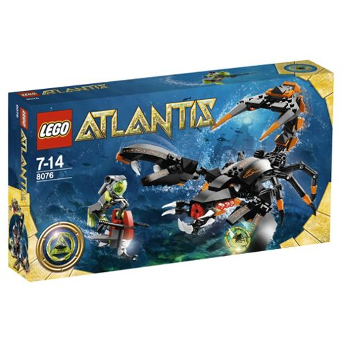 LEGO Atlantis Deep Sea Striker 8076