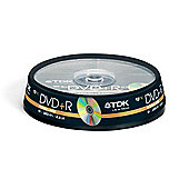 TDK 8.5 GB 8x Double Layer DVD-R Disc 10 Pack