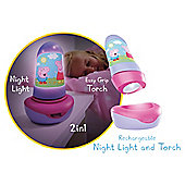 Peppa Pig Go Glow Night Light & Torch