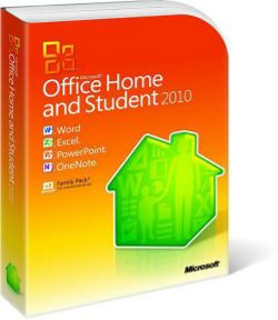 Microsoft Office Home and Student 2010 English DVD