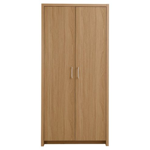 Manhattan 2 Door Wardrobe, Oak Effect
