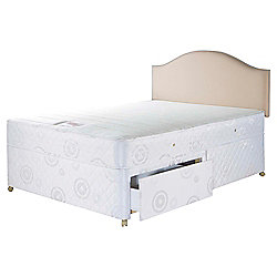 Airsprung Evesham Trizone Single 2 drawer Divan set
