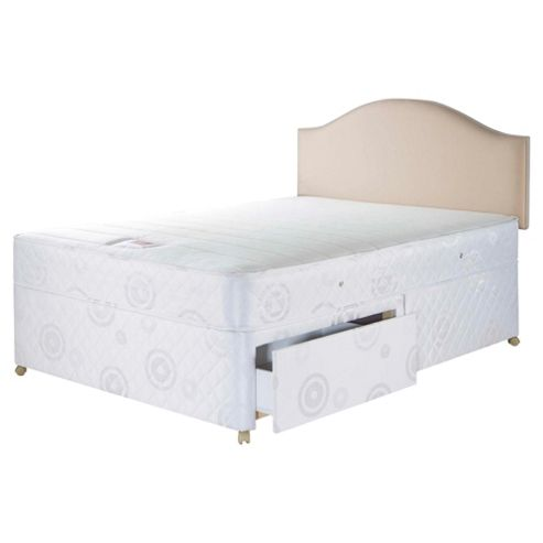 Airsprung Mercury Trizone Single 2 Drawer Divan Bed