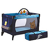 Hauck Winnie the Pooh Travel Cot, Blue
