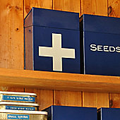 Crocus First Aid Storage Box - Blue