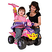 Injusa 4-in-1 Quad Ride-On, Pink