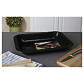 Swan 36cm Vitreous Enamel Medium Lipped Roaster