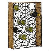 Tesco Seagrass Wine Rack - 24 Bottles