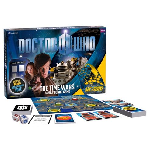 Doctor Who The Time Wars Family Board Game