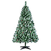 Tesco 6ft Swiss Snowy Mountain Christmas Tree