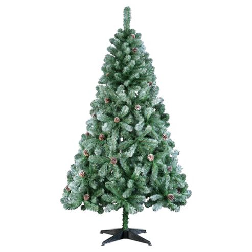 buy tesco 6ft swiss snowy mountain christmas tree from our. Black Bedroom Furniture Sets. Home Design Ideas