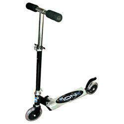Zinc 2-Wheel Scooter, Black