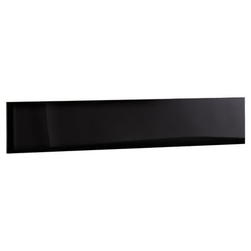 Adria 4 Pack 4 Drawer Chest Fronts, Black Gloss