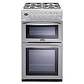 Belling GT756 White Gas Double Oven