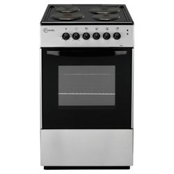 Flavel FSE50S  50cm Silver Single Electric Cooker