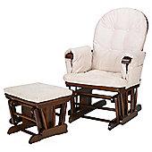 Tutti Bambini GC35 Glider Nursing Chair, Walnut