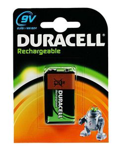 Duracell 15036495 NiMH 170mAh 9V Rechargeable Battery