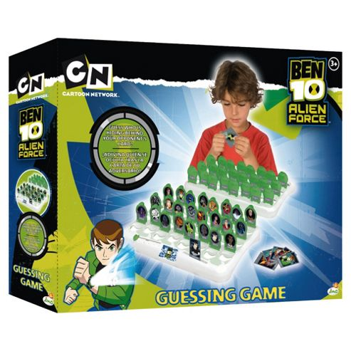 Ben 10 Guessing Game Green
