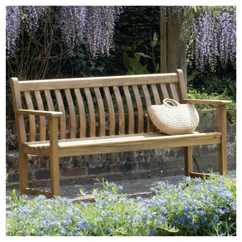 Alexander Rose Acacia Wooden Bench 5ft