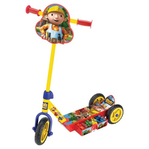 Bob The Builder Secret 3 Wheel Tri Scooter
