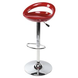 Enco Barstool, Metallic Red