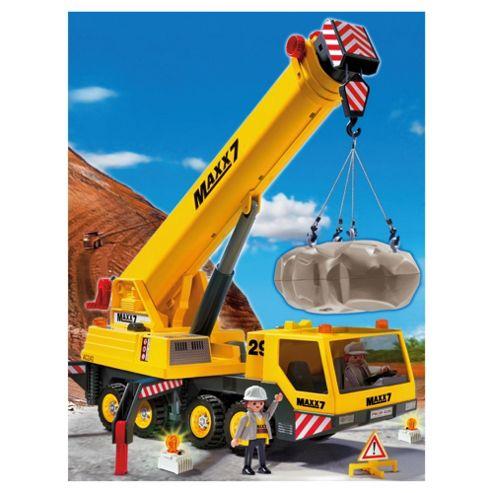 Playmobil Construction 4036 Heavy Duty Mobile Crane  Playmobil