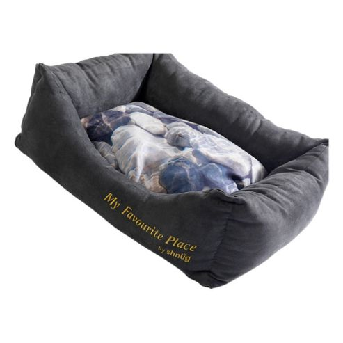 My Favourite Place Pebbles pet bed