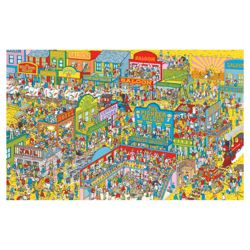 Paul Lamond Wheres Wally 1000 Piece Wild West Puzzle